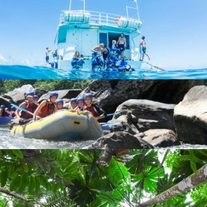 Cairns Great Barrier Reef Tour, Raft and Rainforest