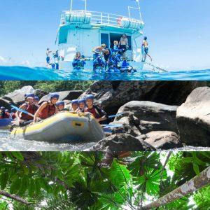 Cairns Great Barrier Reef Tour, Raft and Rainforest