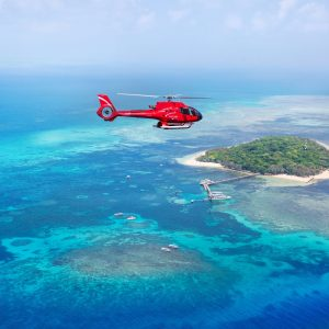 Helicopter Cairns  30 Minute Scenic Reef flight