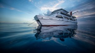 Spend the night on the Great Barrier Reef