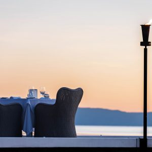 Dining out on Orpheus Island
