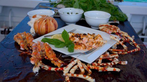Haggerstone Islands cuisine