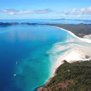 Whitehaven Beach, The Whitsundays, Queensland Australia