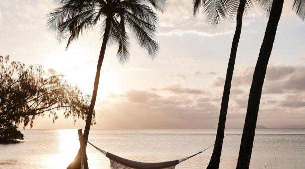 Enjoy a Sunset in a Beachside Hammock